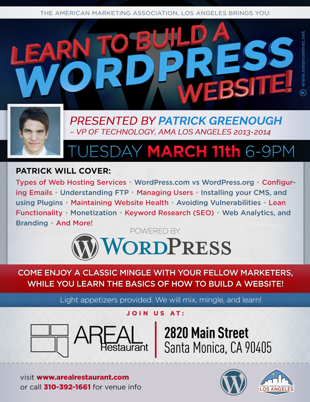 WordPress Presentation with AMA Los Anageles