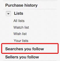 eBay Advanced Search searches