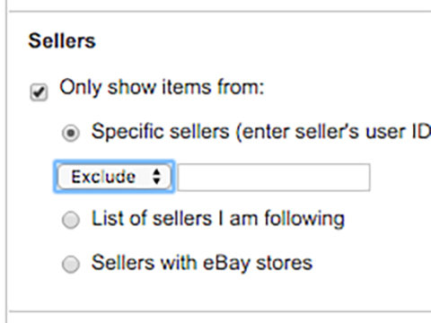 How To Exclude Ebay Listings By Seller In Search The Blog Of Author Patrick Greenough