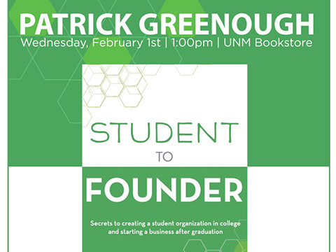 Student to Founder Book Signing at UNM Bookstore | Featured Image