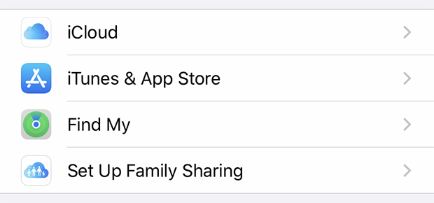 iPhone Settings | iCloud